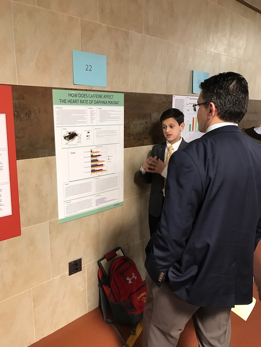 East Woods Alumni Wins the First Ever Freshman Science Fair at Chaminade High School