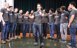 Yale Spizzwinks a cappella group comes to EWS.