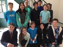 Seventh Grade Leads EWS To Help Make A Difference