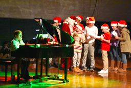 The EWS Community Honors a Holiday Tradition.