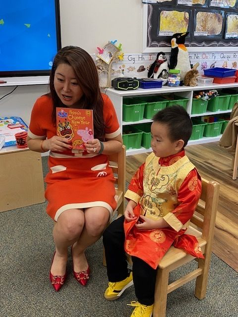Students Learn About Chinese New Year